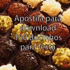 Apostila para download - 100 docinhos para festa