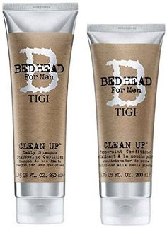 Introducing Tigi Bed Head Men Clean Up Combo Shampoo 845 Oz Conditioner 676 Oz. Get Your Ladies Products Here and follow us for more updates!