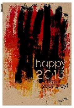 Wegens succes verlengd! ;) - Happy 2013  Card by POINTT83