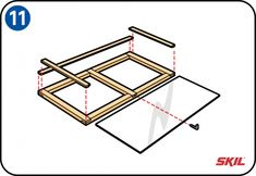 You don't need to buy a wooden cold frame – it's easy to build your own. You'll find simple, step-by-step instructions here for making a cold frame. Scrap Wood Projects, Diy Pallet Projects, Woodworking Projects, Projects To Try, Outdoor Planter Boxes, Wood Planters, Cold Frame, Frame It, Diy Greenhouse