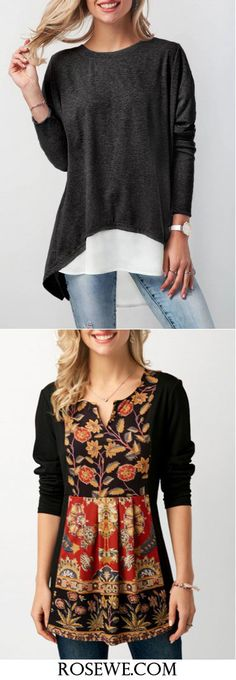Cute tops for women at Rosewe.com, free shipping worldwide.