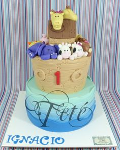 THE ARK OF IGNACIO - Cake by Teté Cakes Design