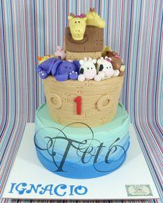 THE ARK OF IGNACIO - Cake by Teté Cakes Design