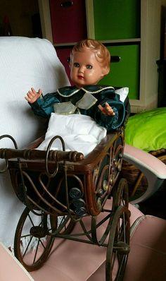 Puppenwagen mit Schildkrötpuppe Ursel | eBay