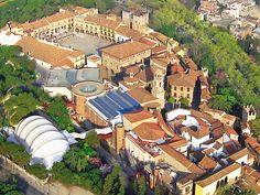 Poble Espanyol - Spanish Village in Barcelona