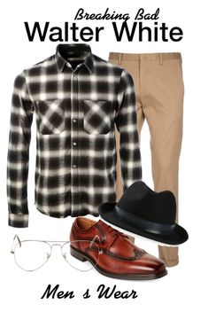 """Breaking Bad"" by sparkle1277 ❤ liked on Polyvore featuring Paul Smith, AMIRI, Florsheim, Lovely Bird, Ray-Ban, men's fashion and menswear"