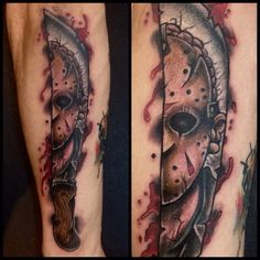 Machete tattoo jason