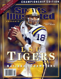 71b976c1a Photo Gallery  LSU Football on the cover of Sports Illustrated -  LSUsports.net -