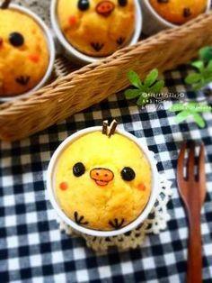 kiiroitori muffin