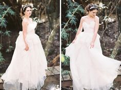 Enchanted Garden Wedding Inspiration Shoot from Josie Richardson