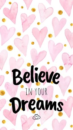 Free Colorful Smartphone Wallpaper - Believe in your dreams . Kostenlose bunte Smartphone Wallpaper - Glaube an deine . Cute Quotes, Happy Quotes, Words Quotes, Positive Quotes, Motivational Quotes, Inspirational Quotes, Sayings, Motivational Articles, November Wallpaper
