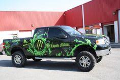 Ottawa Truck Wrap - Monster Wrap