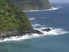 Maui, view from the Road to Hana trip
