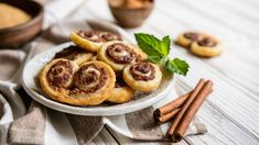 Christmas Fruit Mince Palmiers make the perfect Christmas food gift. They are crunchy, sweet and delicious - add them to your nibble Christmas Food Gifts, Food Photo, Sweet Recipes, Waffles, Cinnamon, French Toast, Sugar, Baking, Fruit
