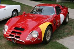 1967 Alfa Romeo Giula TZ-2.    Amazing Rides From the Most Interesting Car Show You've Never Heard Of