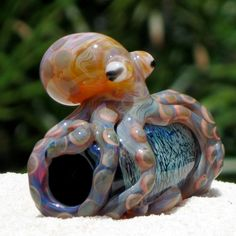 glass octopus bead - Google Search