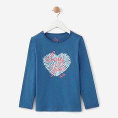 T shirt manches longues THEME Lucky Girl - Collection Printemps Été 2018 bd1484a1a0a6