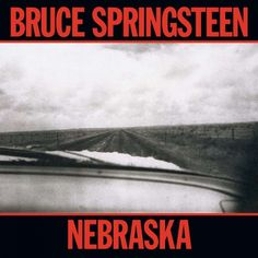A great poster of the album cover art from Bruce Springsteen's sparsely beautiful 1982 LP Nebraska! Check out the rest of our amazing selection of Bruce Springsteen posters! Need Poster Mounts. Bruce Springsteen Albums, Bruce Springsteen Songs, Top 100 Albums, Great Albums, Elvis Presley, My Father's House, The Rolling Stones, Pochette Album, E Street Band
