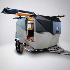 mini caravan Minimalist, mini caravan, trailer, ca - caravan Motorcycle Camper Trailer, Rv Truck Camper, Off Road Camper Trailer, Trailer Tent, Tiny Camper, Motorcycle Camping, Truck Camping, Camper Trailers, Best Camping Gear