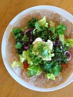 *Momsemat: Burrito med sorte bønner og grønnkål