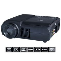Multimedia LED Projector with DVD Player