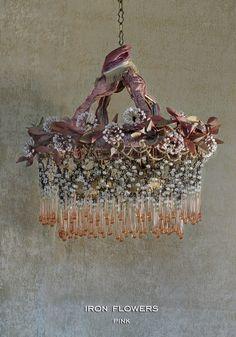 Vintage style chandelier