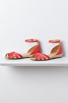 Espadrille Wedges #anthropologie