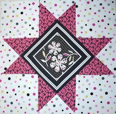 Summer Star Quilt Along - 2010 Quilt Block Patterns, Star Patterns, Pattern Blocks, Quilt Blocks, Old Quilts, Star Quilts, Christmas Sewing, Diy Projects To Try, Square Quilt