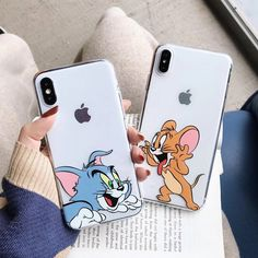 Funny cute cartoon Tom Jerry phone case for iPhone X XR Xs Max 8 7 6 6 - elega . - Funny cute cartoon Tom Jerry phone case for iPhone X XR Xs Max 8 7 6 6 – elega …, - Bff Iphone Cases, Bff Cases, Girly Phone Cases, Disney Phone Cases, Silicone Iphone Cases, Pretty Iphone Cases, Cute Cases, Iphone Case Covers, Best Friend Cases