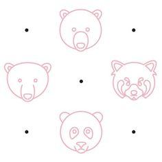 Animal Line Icon Set