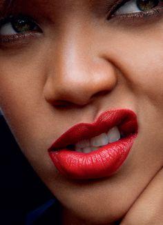 Rihanna by Annie Leibovitz