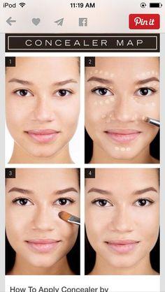 How To Put On Concealer #Beauty #Trusper #Tip