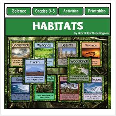 Habitats by Heart 2 Heart Teaching | Teachers Pay Teachers