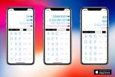 New version of BaseCalc with iPhone X support is out. See http://itunes.apple.com/us/app/basecalc/id791106163.