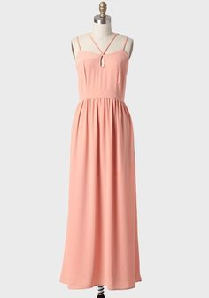 Arianna Strappy Maxi Dress at ShopRuche.com