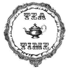 Alice In Wonderland White Rabbit Down Rabbit Hole Children Word Art Digital… Vintage Labels, Vintage Tea, Imagenes Free, Collages D'images, Foto Transfer, Tea Art, Decoupage Paper, Digi Stamps, French Art