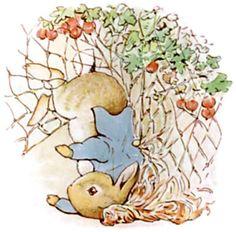 El cuento de Pedrito Conejo de Beatrix Potter