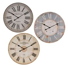 We're so happy Jana Randall from SheKnows included our vintage wall clocks in her article on the international style for the 2014 Olympics! #kirklands #bloglovin #vintageclocks