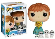 Funko POP! Disney Frozen Fever - Anna<<<oh my goodness she has the little snow babies!!!