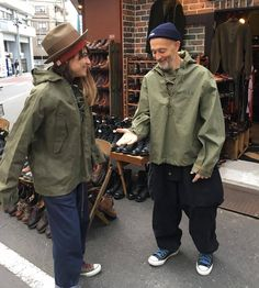 Japanese Minimalist Fashion, Japanese Fashion, Workwear Fashion, Denim Fashion, Vintage Military Jacket, Nigel Cabourn, Future Clothes, Military Fashion, Vintage Denim
