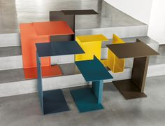 Diana Side Tables by Konstantin Grcic for ClassiCon - New Colours 2014