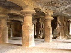 elephanta caves in mumbai interior - Google Search