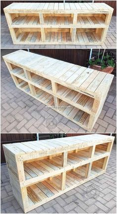 Shelving cabinet creation out of the wood pallet do always stand out as impressive in appearance idea for your home corn Wood Pallet Recycling, Wooden Pallet Projects, Wood Pallet Furniture, Recycled Pallets, Wooden Pallets, Pallet Ideas, Wooden Diy, Diy Furniture, Rustic Furniture