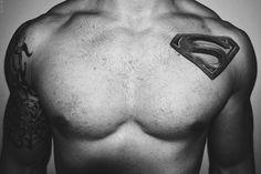 #21 Tattoos do Batman e Superman | para você curtir o novo filme! - Tattoo Finder
