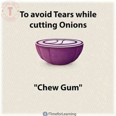 Problem with cutting onions and tearing up every time?