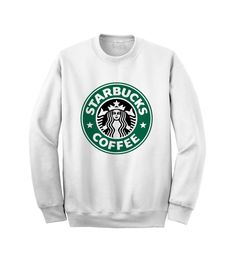 Hey, I found this really awesome Etsy listing at https://www.etsy.com/listing/169963524/starbucks-sweatshirt-crewneck-sweater