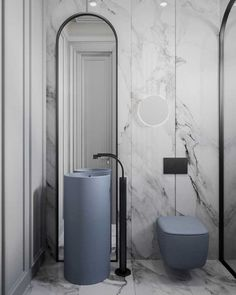 10 of the Most Exciting Bathroom Design Trends for 2019 - AVR. - 10 of the Most Exciting Bathroom Design Trends for 2019 Emily Henderson bathroom trends 2019 … Ada Bathroom, Bathroom Toilets, Modern Bathroom, Small Bathroom, Bathroom Marble, Bathroom Grey, Bathroom Vanities, Bathroom Mirrors, Bathroom Cabinets
