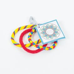 Ecuador Patriotic Bracelet Set by Blessed Hope Nepal