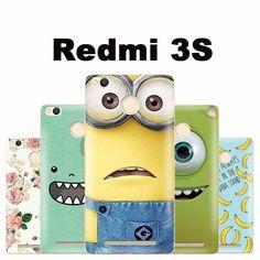 Xiaomi Redmi 3 s fall abdeckung kunststoff cartoon fall für Xiomi Xiaomi Redmi 3 s 3 s telefon fall Schöne pc m3 Xiaomi Redmi 3 s pro fall