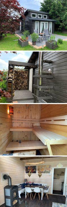 Gartenhaus selber aufbauen: Unsere Kunden haben sich ihren Traum von einem gemütlichen Rückzugsort erfüllt inklusive Sauna! Schauen Sie bei unserer Kundenstory vorbei für alle Infos zum Aufbau und diesem tollen Projekt! Sauna